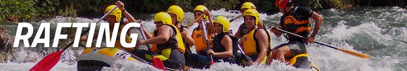 Rafting en Cazorla