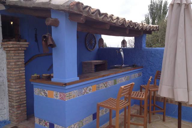 Casa rural Lancha de los Lentejos - Barra Barbacoa