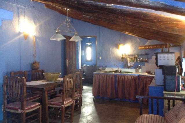 Casa rural Lancha de los Lentejos - Interior salon