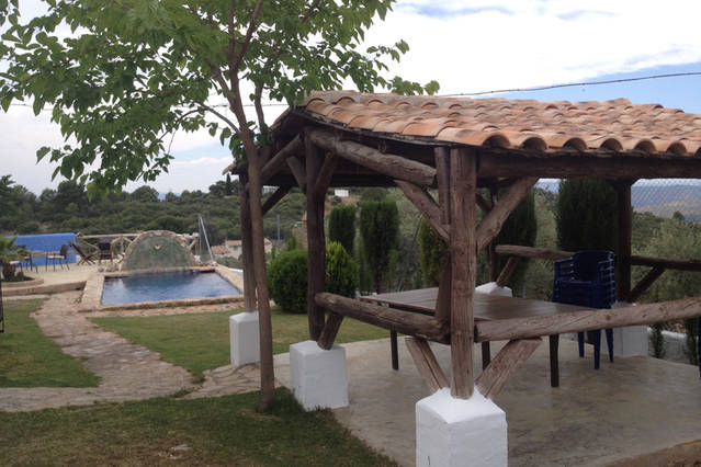 Casa rural Lancha de los Lentejos - Pergola Exterior