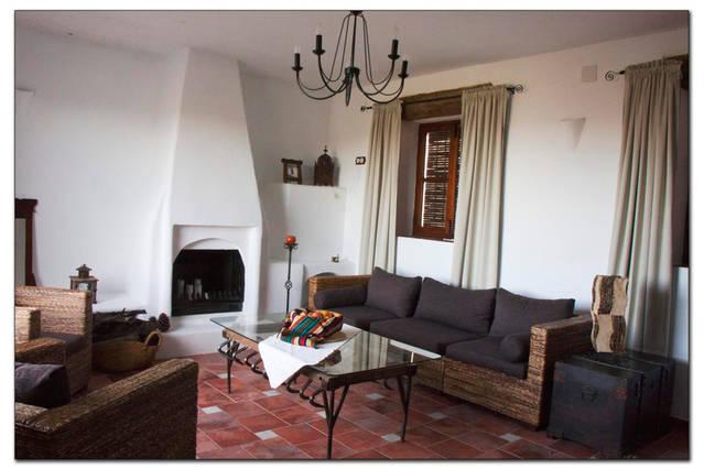 Casa rural Lancha de los Lentejos - Chimenea