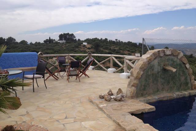 Casa rural Lancha de los Lentejos - Vistas desde Terraza