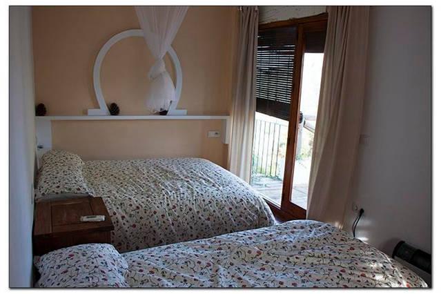 Casa rural Lancha de los Lentejos - Dormitorio